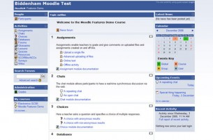 Free Moodle Themes - Facebooky