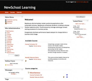 Free Moodle Themes - Ingenuous