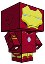Creative Superhero Paper Models - Iron Man