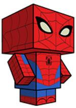 Creative Superhero Paper Models - Spiderman