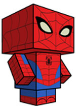 Creative Superhero Paper Models - Spiderman