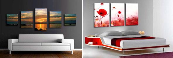 Transforming Photographs into Glitzy Canvas Prints