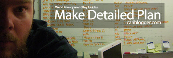 Web Development Key Guides Part 3: Make Detailed Plan