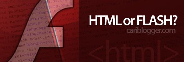 Flash Websites or HTML Websites?