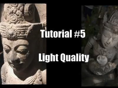 Lighting Photography Tutorials: (Video) Light Quality