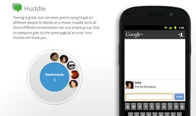 Google+ Huddle