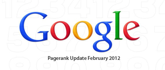 Google Pagerank Update February 2012