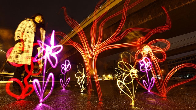 Light Graffiti by Lichtfaktor