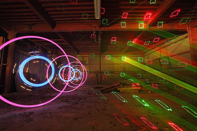 Light Graffiti by Trevor Williams