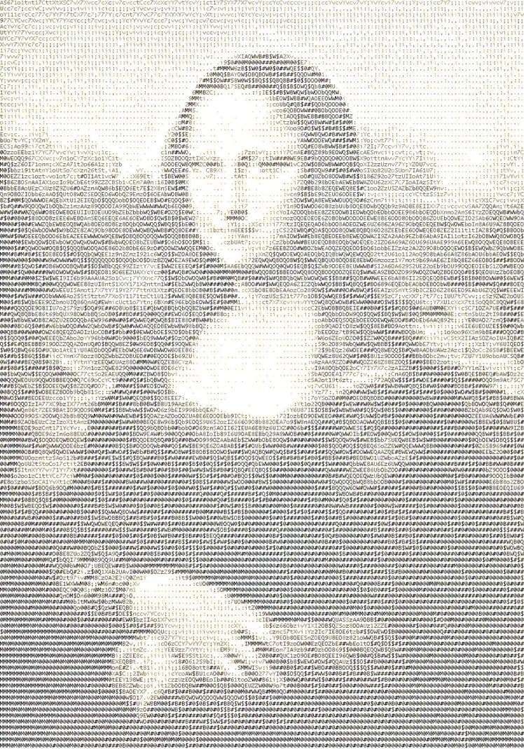 Mona lisa with keyboard symbols perkayprolem36s soup mona lisa painting contains hidden code biocorpaavc Choice Image