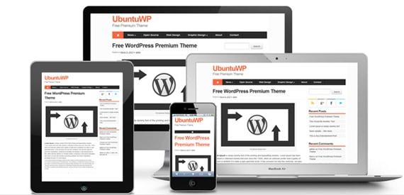 Download Premium Responsive WordPress Theme UbuntuWP Version 3