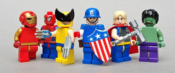 Lego Photography - Fellow the avengers