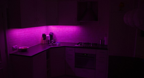 let a little creative light into your home with diy led