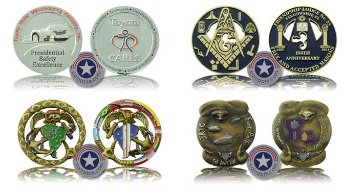Custom Coins, Challenge Coins Creative Ideas