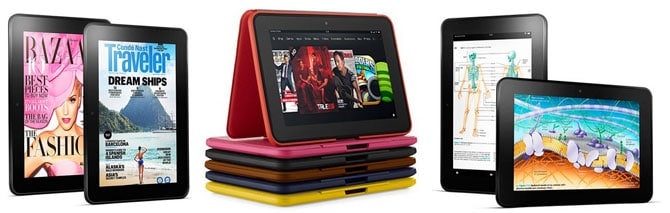 Up to $50 discounts on the 8.9-inch Kindle Fire HDs