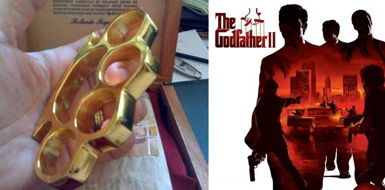 Godfather 2 Brass Knuckles