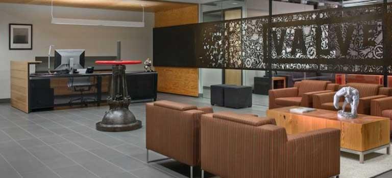 Valve Office Design