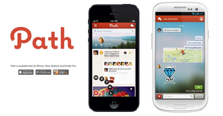 How to Share Your World With Friends Using Path?