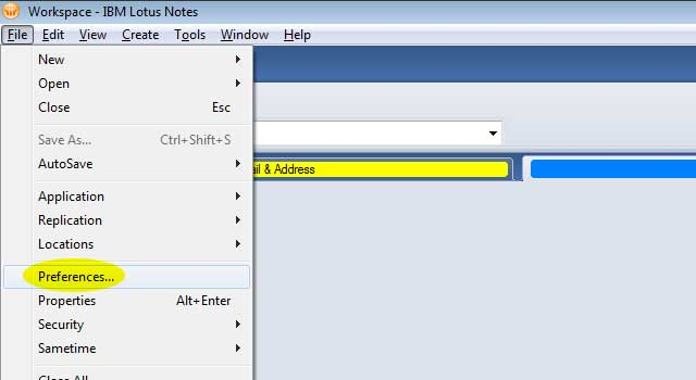 How to Set Signature in Lotus Notes