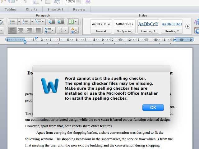 """How to Solve """"Word cannot start the spelling checker"""" Error Prompt"""