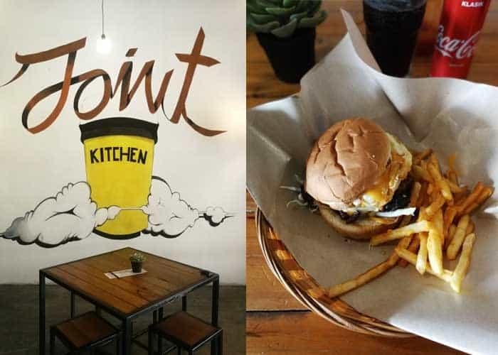Sedapnya Krusty Burger di Joint Kitchen, Seremban 2