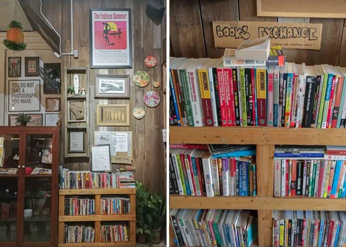 coastal store cafe kuantan book exchange min - Gabungan Muzik, Buku & Kopi di Coastal Store, Kuantan - 3