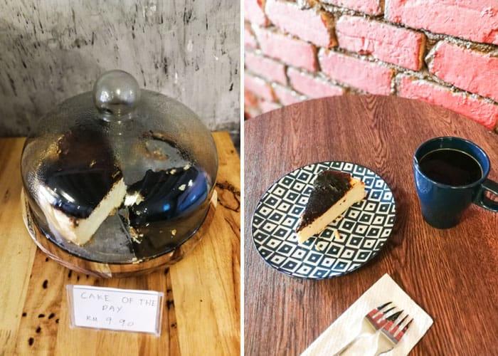 kopi teh kuantan burnt cheesecake min - Keasyikan Kopi Terbalik Aceh di Kopi & Teh, Kuantan - 9