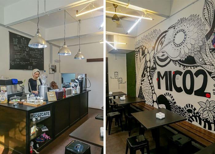 Minum Petang di MICO2 Cafe, Kuantan