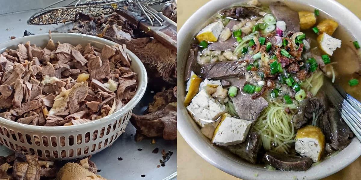 bihun sup di restoran sham sup utara bandar seri putra min - 6 Tempat Makan Best & Sedap di Bandar Seri Putra - 10