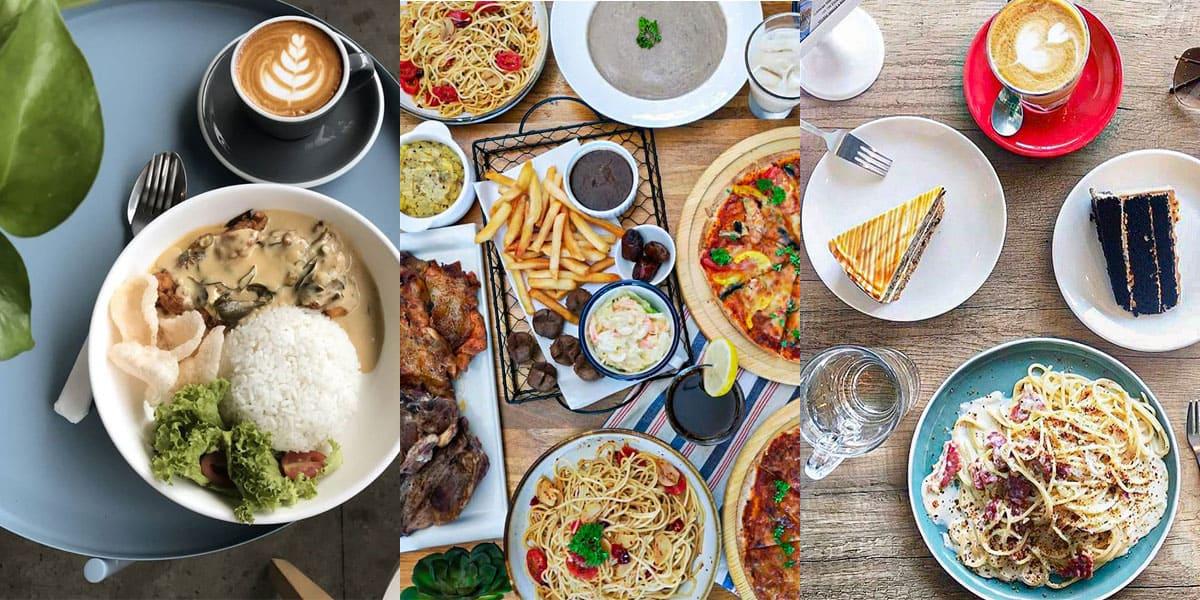 Beberapa menu makanan di tempat-tempat makan best di Cyberjaya