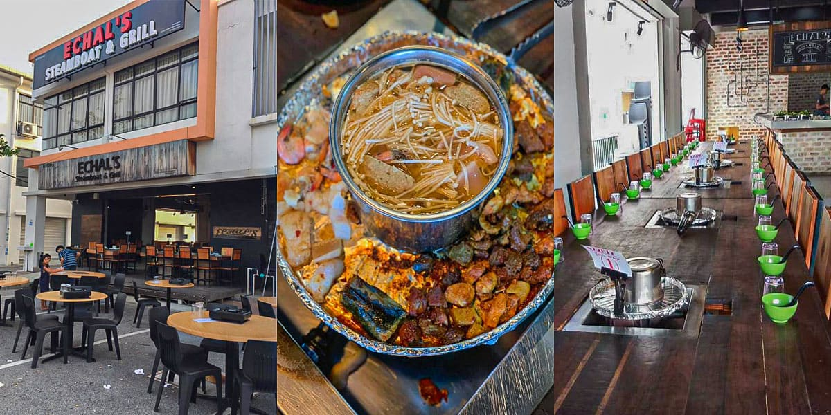 makan best semenyih echals steambot grill min - 10 Tempat Makan Best di Semenyih. No. 3 Kesukaan Kami! - 4