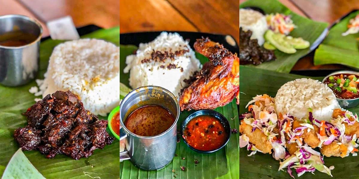makan best semenyih nasi kukus tok we menu min - 10 Tempat Makan Best di Semenyih. No. 3 Kesukaan Kami! - 1