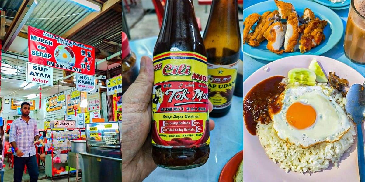 makan best semenyih tok man nasi lemak kelate min - 10 Tempat Makan Best di Semenyih. No. 3 Kesukaan Kami! - 2