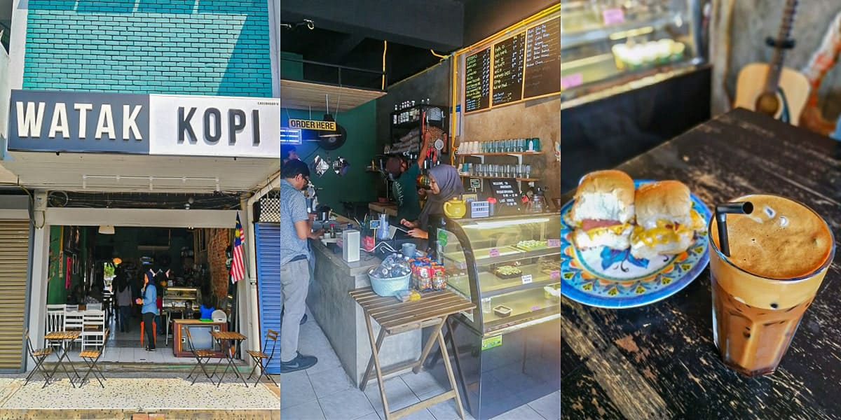 watak kopi cafe best di jalan besar kuantan min - 5 Cafe Paling Best & Trending di Jalan Besar, Kuantan - 2