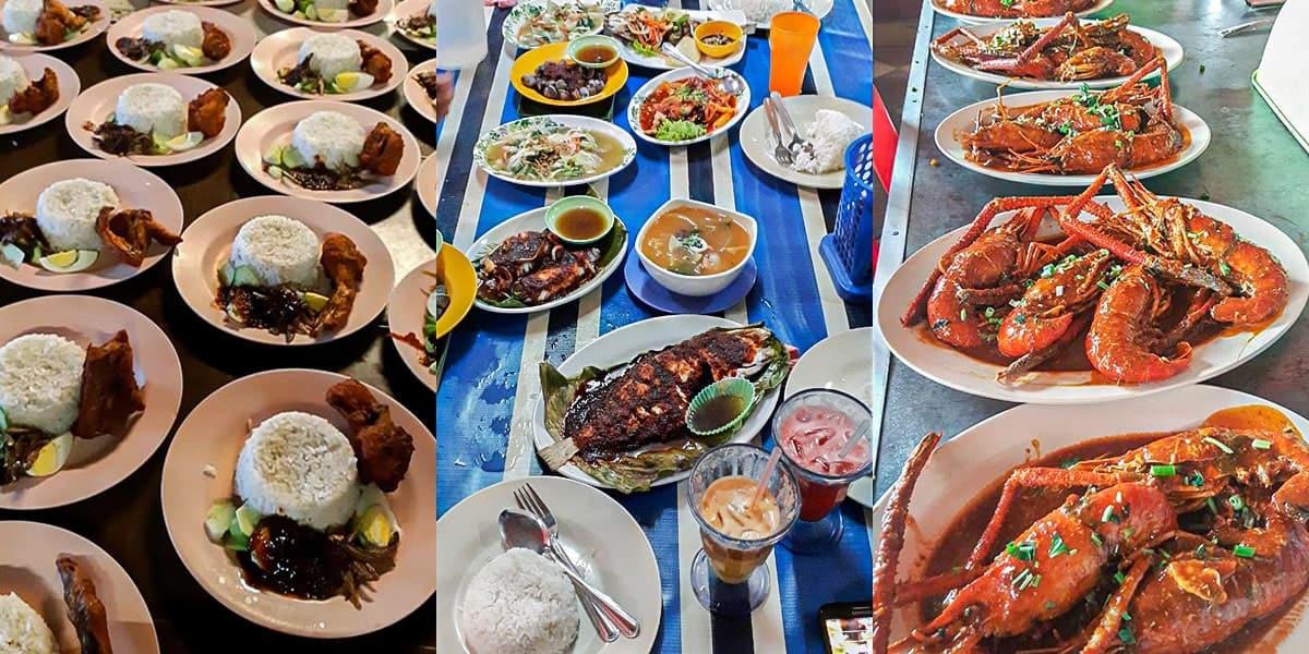 Tempat Makan Best di Cherating