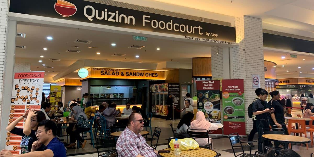 Quizinn Foodcourt, NU Sentral