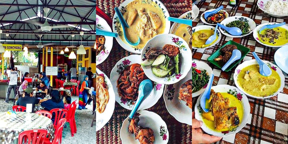 Tempat Makan Best di Nilai - Gulai Omak Den