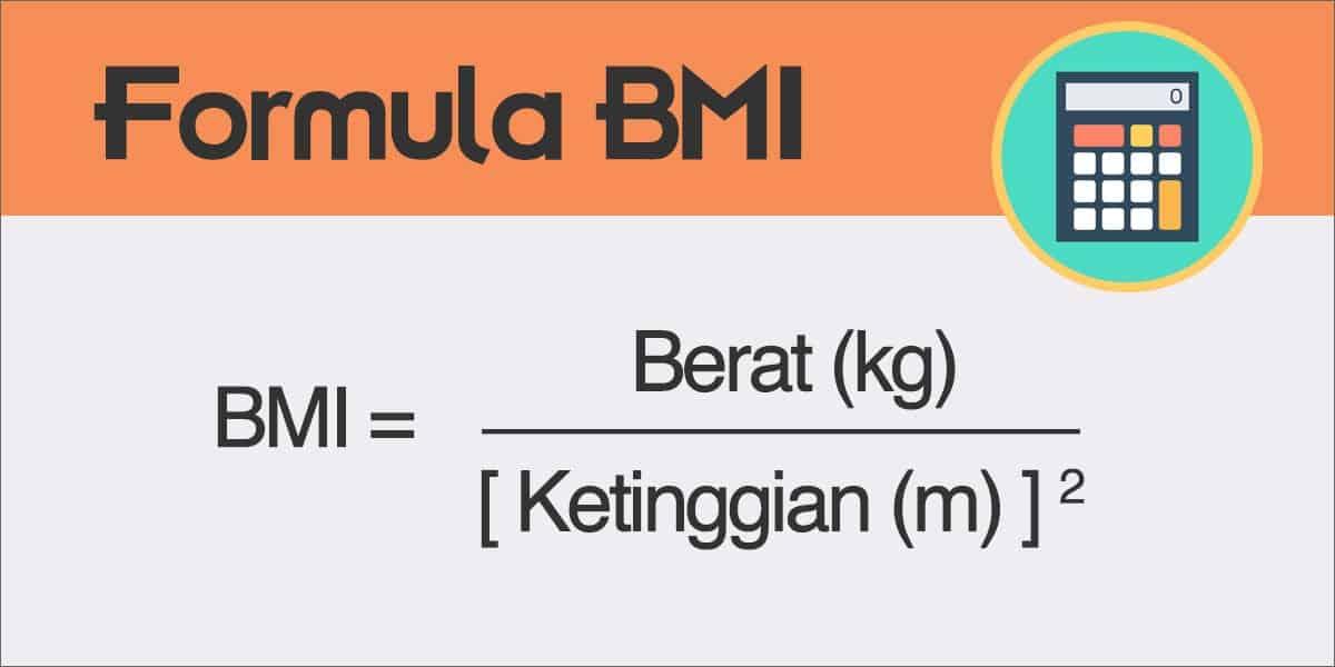 Cara Kira BMI Secara Manual Guna Formula BMI