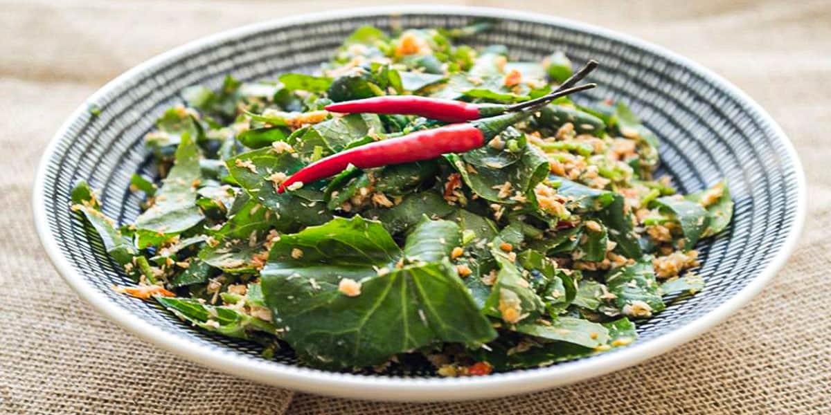 Resepi Salad Centella Asiatica