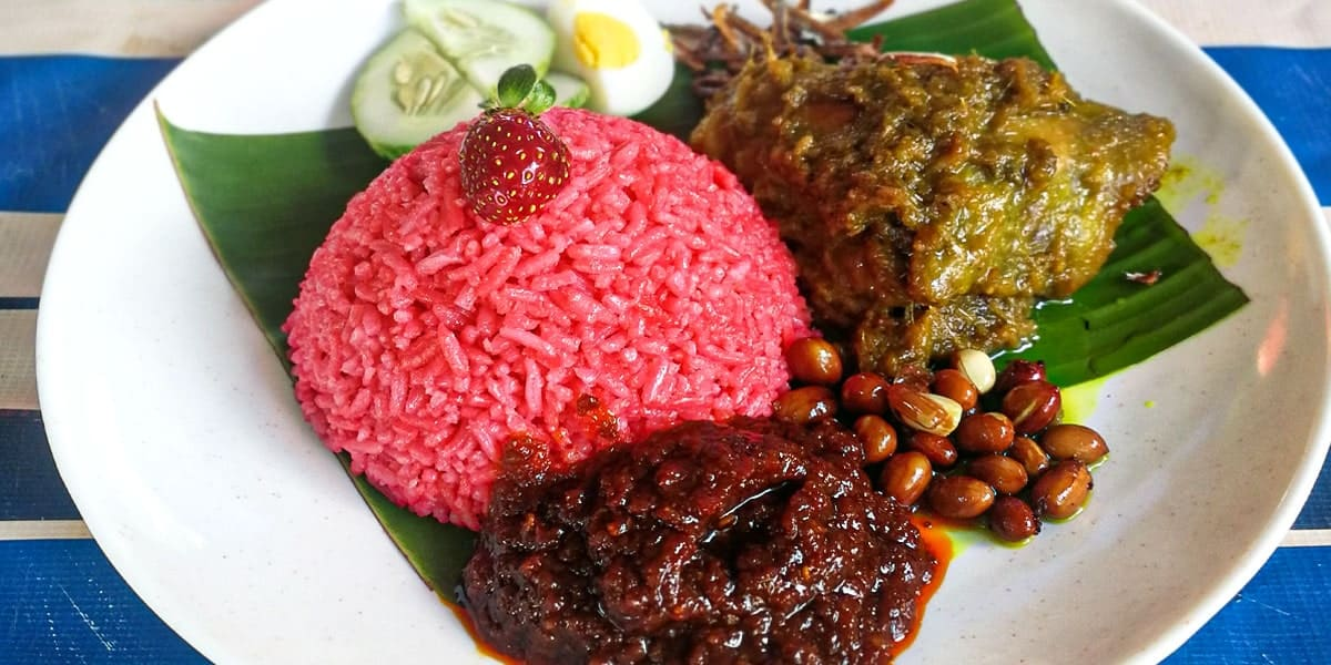 Nasi Lemak Strawberry Palong 15