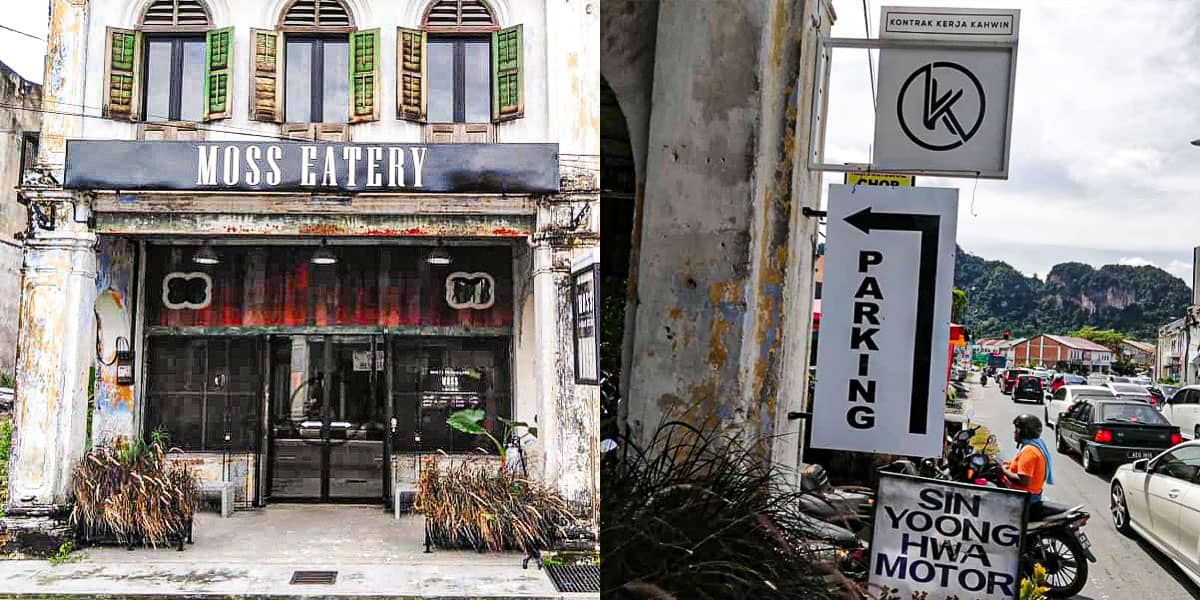 Moss Eatery Ipoh Parking
