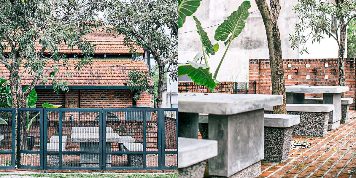 Moss Eatery Ipoh Seating Outdoor