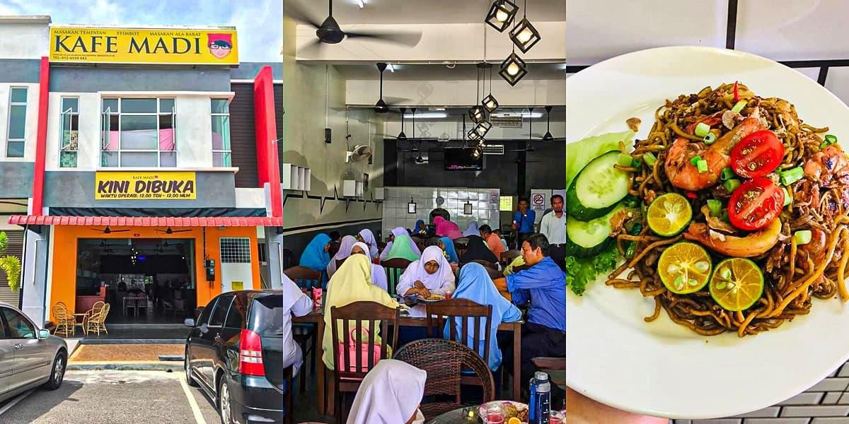 Makan Best Gemas - Kafe Madi
