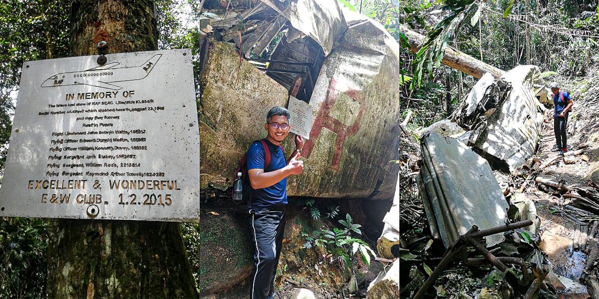 Gunung Berembun & Telapak Buruk Crashed Site