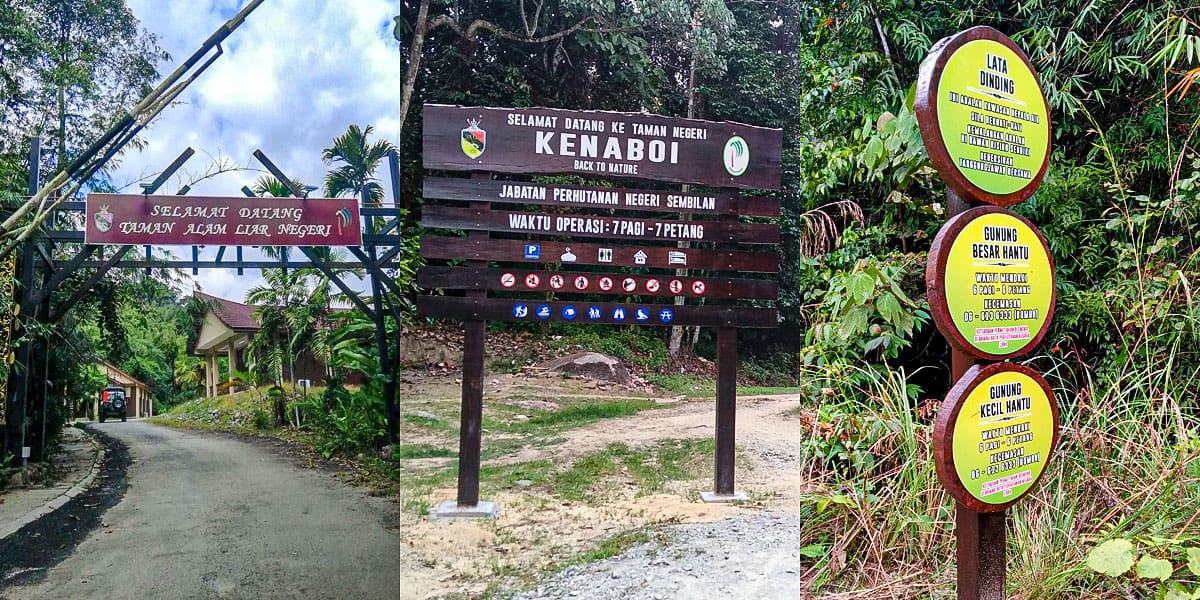 Tempat Menarik di Jelebu - Taman Negeri Kenaboi