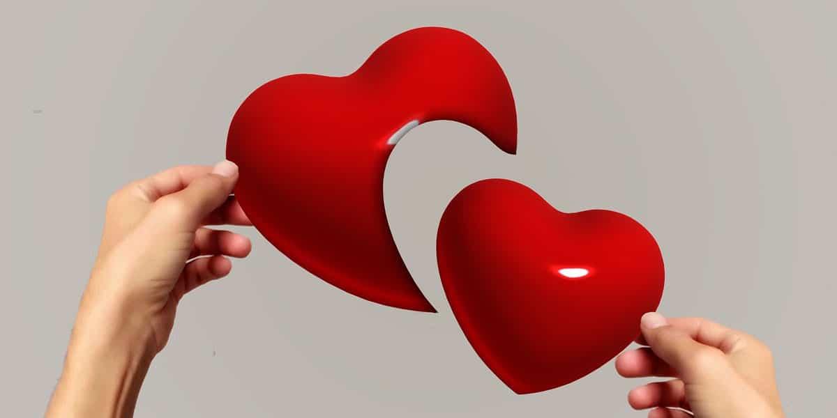 Broken Heart Couple