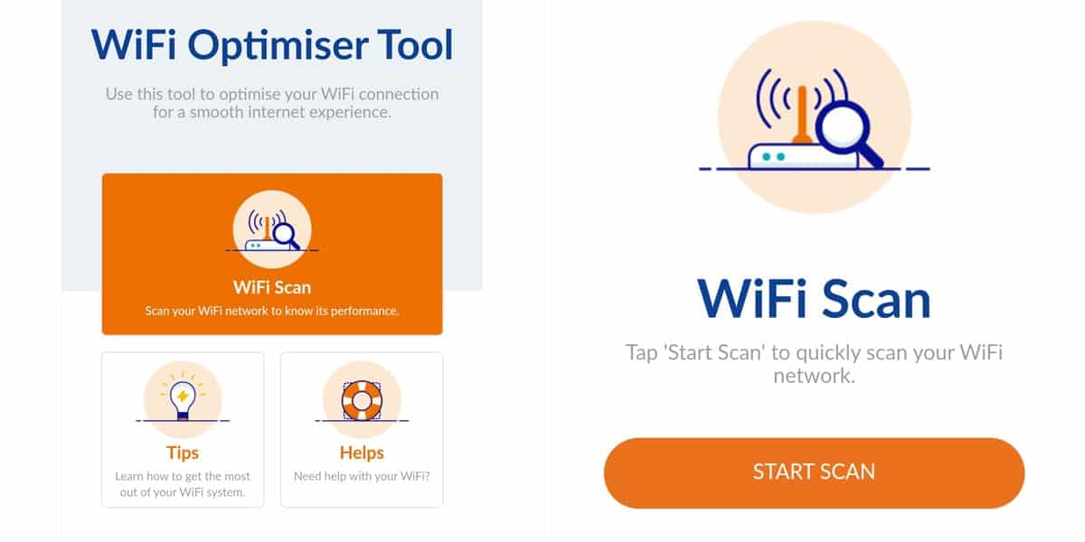 Cara Lajukan Internet Unifi - Guna WiFi Optimiser Step 1