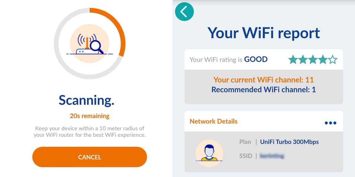 Cara Lajukan Internet Unifi - Guna WiFi Optimiser Step 2
