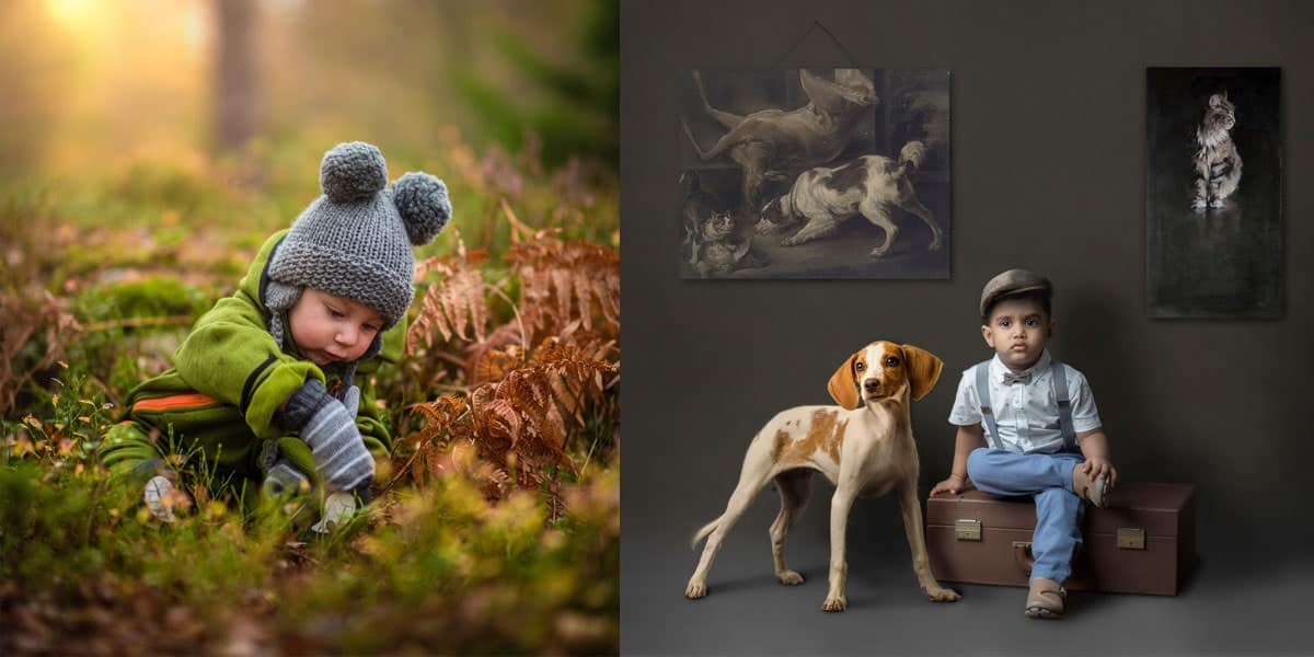 Family Photography Theme - Candid & Studio