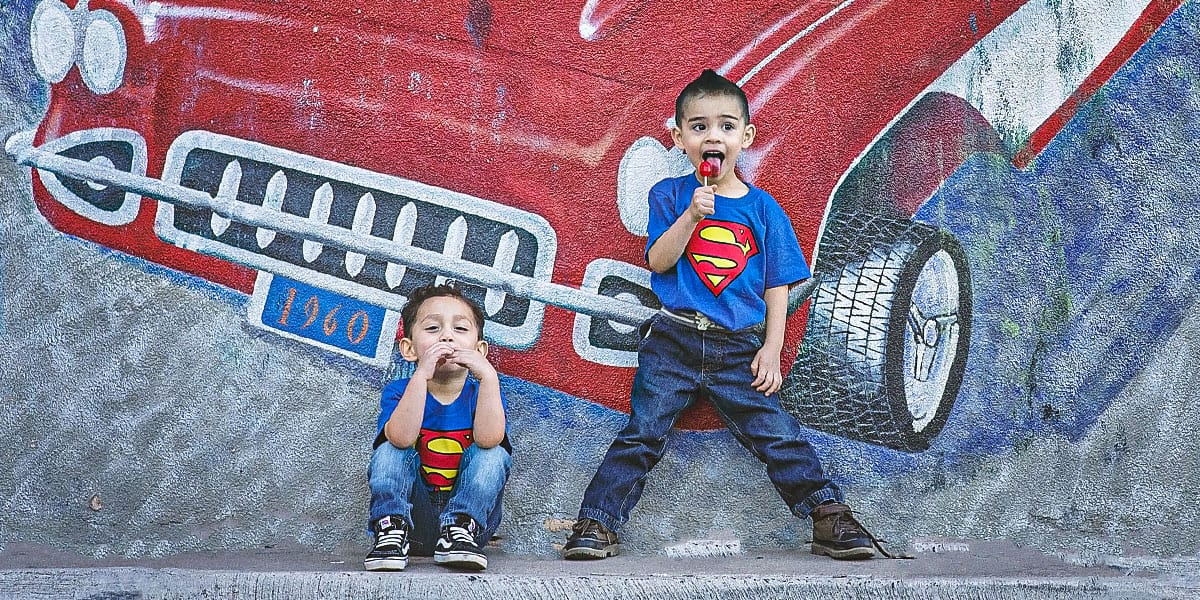 Family Photography Theme - Superhero